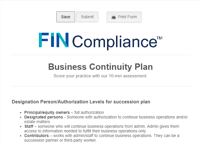 Business Continuity Plan Image